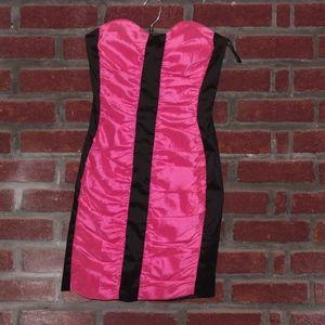 Jessica McClintock Strapless Mini Dress